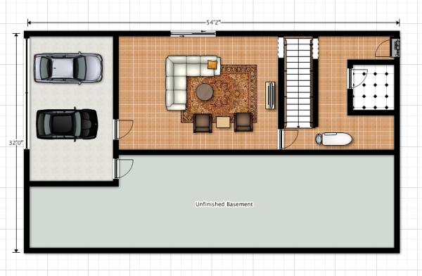 Second Floor, Floor Plan
